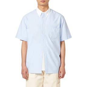 ISAAC CAMPUS BUTTON DOWN SHIRTS BLUE