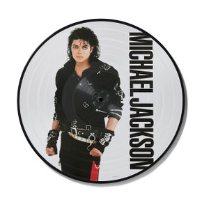 Michael Jackson -Bad (Picture Disc Vinyl LP)