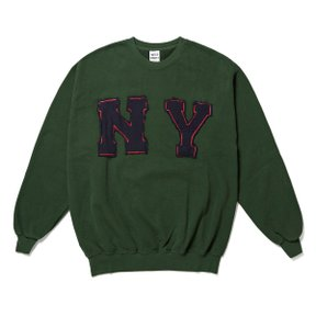 와일드동키 NY SWEAT SHIRT GREEN