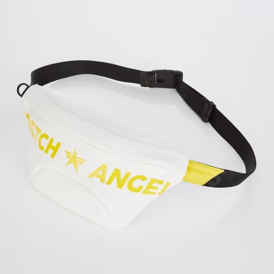 스트레치엔젤스[S.P.U] Round volume fanny bag S (White)