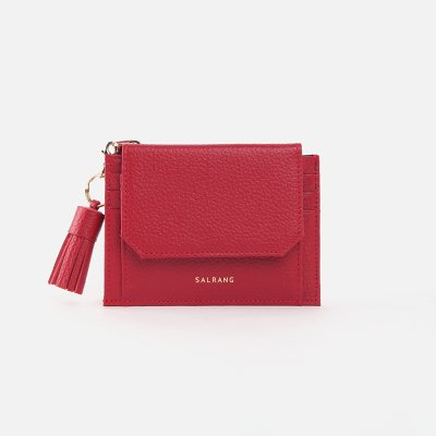 [ALAND][태슬증정]Reims 303S Cover card Wallet cherry red