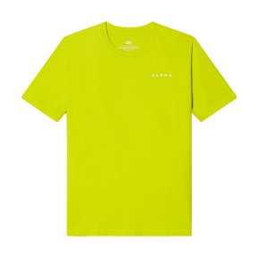 REFLECTIVE CONTRACT TEE NEON YELLOW
