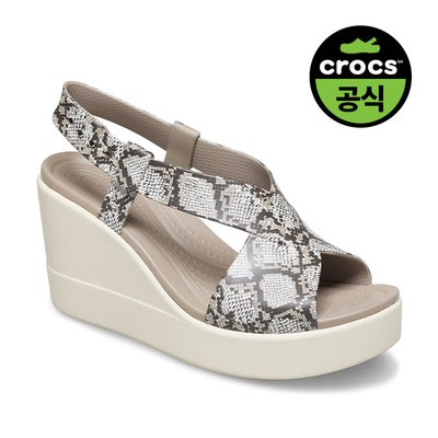 크록스공식 여성 CROCS BROOKLYN HIGH WEDGE W MST (20SWWD206222)
