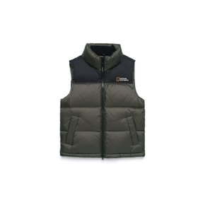 N194UDV020 (공용)바이슨 RDS Duck Down Vest  STEEL GREY