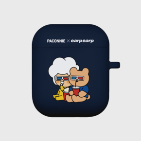 [EARPEARPxCGV]paconnie and covy 3D glass-navy(Air pods)
