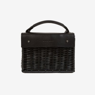 WICKER WINGS 위커윙스 MINI KUAI BAG BLACK