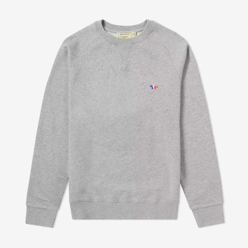 [PRE-ORDER] 20SS SWEATSHIRT TRICOLOR FOX PATCH GREY MEN AM00302KM0002