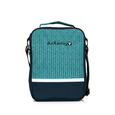 [DUCKS DAY] SECOND BAG_MANU_BLUE GREEN