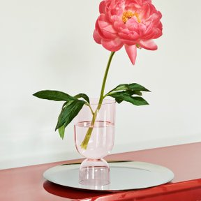 Bottoms Up Vase S Soft Pink