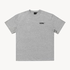 [골스튜디오] LIVE THE GOAL - SATURDAY TEE - GRAY