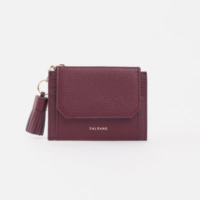 [ALAND][태슬증정]Reims 303S Cover card Wallet burgundy