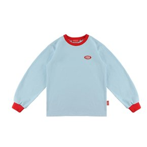 Icebiscuit color point long sleeve tee