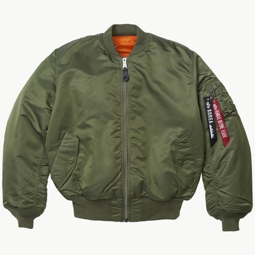 MA-1 FLIGHT JACKET SAGE
