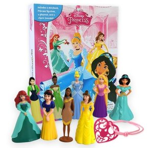 DISNEY PRINCESS : MY BUSY BOOKS 피규어북