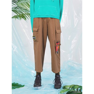 Chino wide cargo pants_DB