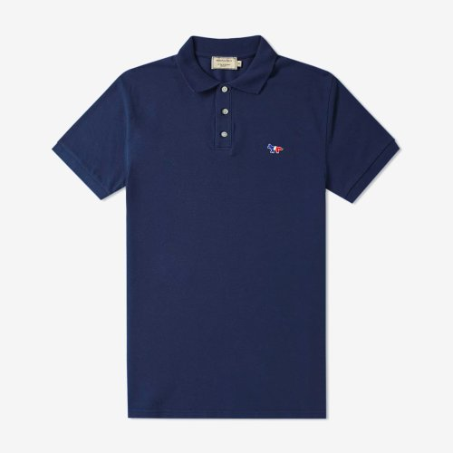 [PRE-ORDER] 19FW POLO TRICOLOR FOX PATCH NAVY MEN AM00200KJ7002