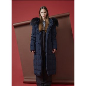 블루핏[THE STUDIO K]17FW DUCK DOWN PADDING COAT_NAVY