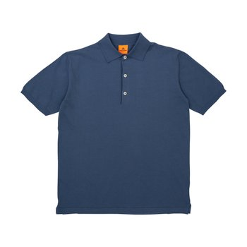 POLO SHORT BLUE