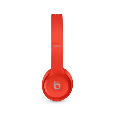 Beats Solo3 Wireless 헤드폰 - (PRODUCT)RED 시트러스 레드(MX472PA/A)