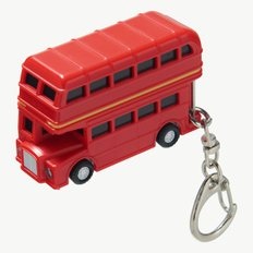 DOUBLE DECKER BUS LED KEYCHAIN