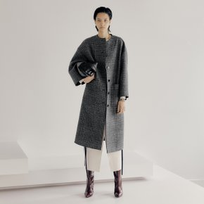 Bring Fur Coat_Black Check