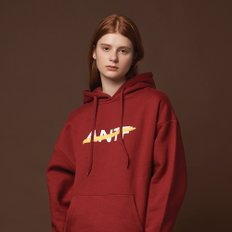 ANOTHER FRAME - THE MOOD OF ANTF HOODIE (BURGUNDY) 기모 후드 후디 후드티