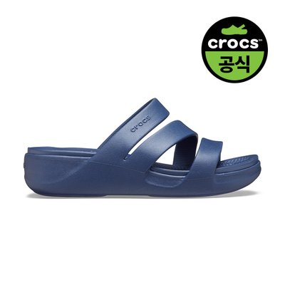 크록스공식 여성 CROCS MONTEREY WEDGE W NAVY (20SWWD206304)