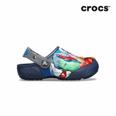 크록스공식 아동 FL MARVEL MULTI CLOG K NAVY  19SKBS205505