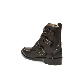 Stud pointed ankle boots(black) DG3CX18555BLK