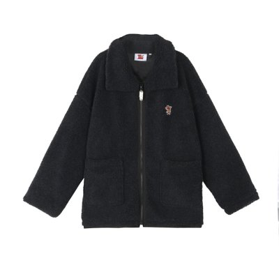 [FW19 T&J] Boa Jacket(Charcoal)