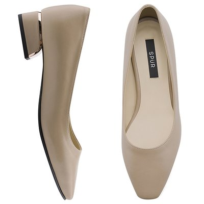 펌프스 OF9035 Pink gold line heel 베이지