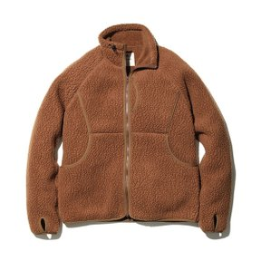 스노우피크 Thermal Boa Fleece Jacket Brown