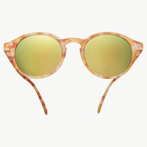 #D YELLO TORTOISE SOFT/GREY LENSES