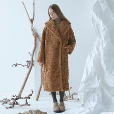 [40%할인가][밀로그램]Cuddle Teddy Coat_BROWN