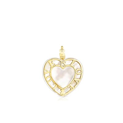 [최초출시가 413,000원]I said heart of gold and mother of pearl Valentine/팬던트/115304020