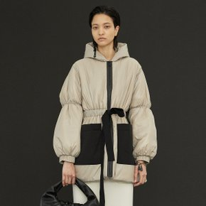 Amber Padded Coat_Beige