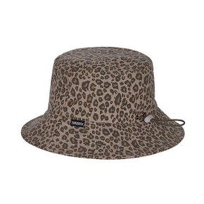 [써틴먼스] LEOPARD BUCKET HAT (BROWN) (5178610)