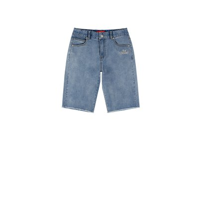 [10% SALE] Icebiscuit high waist cut-off denim shorts