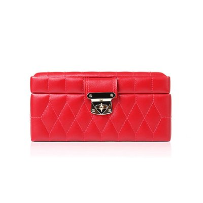 WOLF 울프 329872 Caroline Small Box Red 보석함 Jewel Box