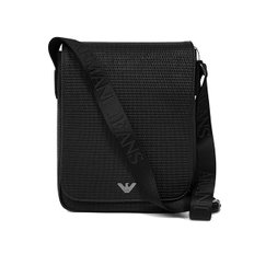 ARMANI JEANS 알마니 진 932114 CD922 00020 MAN SHOULDER BAG BLACK 메신저,크로스백