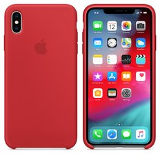 [APPLE] iPhone XS Max 실리콘 케이스 - (PRODUCT)RED (MRWH2FE/A)