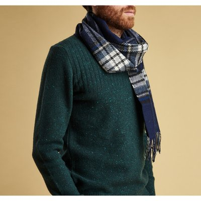 바버 로워펠 스카프 (Barbour Lowerfell Scarf Navy) BAH2USC0262NY71