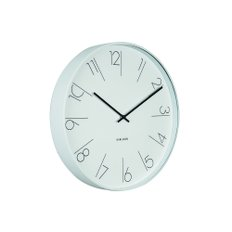 Elegant Numbers wall clock KA5607WH