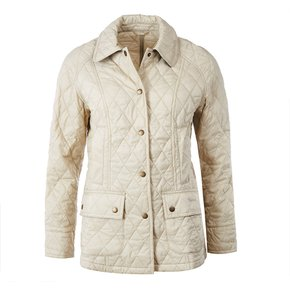 Barbour 썸머 비드넬 퀼트 자켓 크림 (Barbour Summer Beadnell Quilt Jacket CREAM)