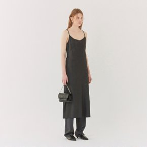 [가브리엘리] 19SS MIDI SLIP DRESS - BLACK