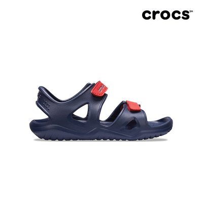 크록스공식  아동 SWIFTWATER RIVER SANDAL K NAVY (19SKSS204988)