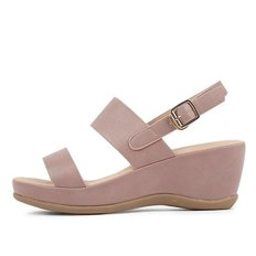 kami et muse Wide double band middle wedge sandals_KM19s161