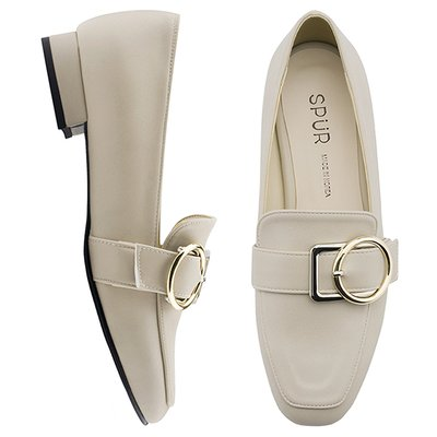 로퍼 OF9038 Object buckle loafer 베이지