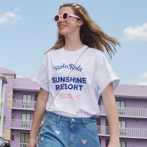 (TS-19331) SUNSHINE RESORT T-SHIRT WHITE
