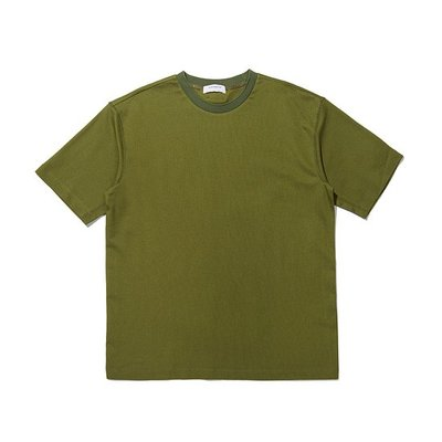 basic fabric t-shirt_CWTAM20431KHX